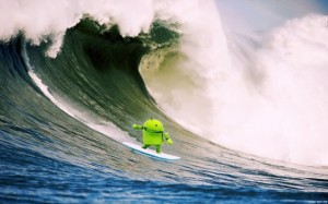 Android surf