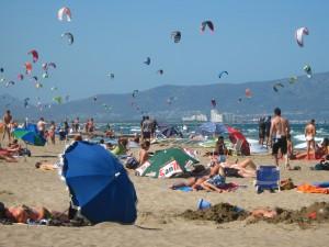 Kitesurf costa brava Sant Pere Pescador