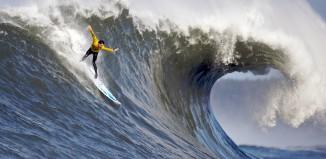 Mavericks surf spot